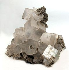 Halite crystal