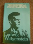 Cover image of Wittgenstein's Philosophical Investigations